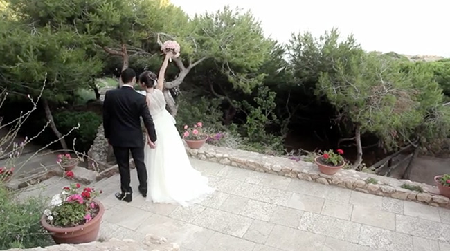 Video de boda - Video wedding - Servilleta de Papel