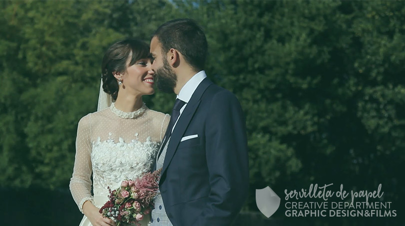 Video de boda - Servilleta de Papel